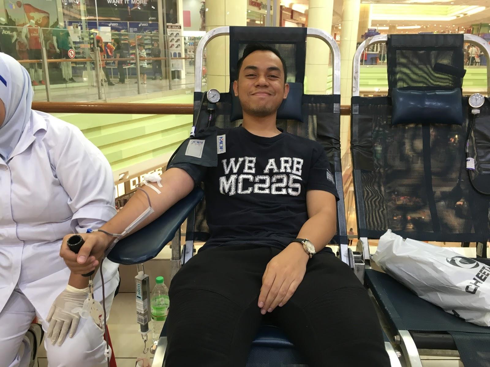 Derma Darah : Tak 'sado' lah kalau takut jarum