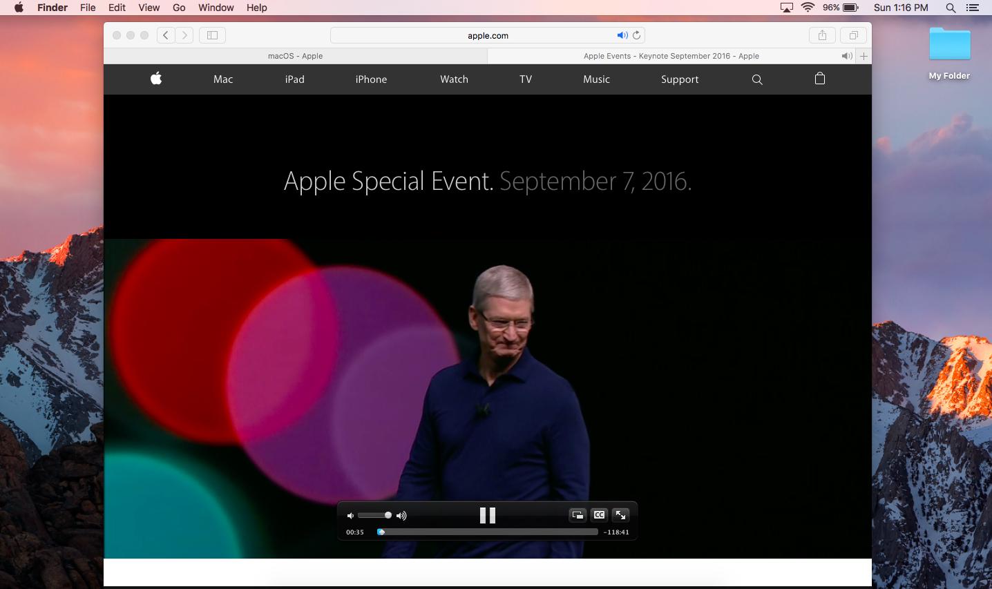 7 Perkara Menarik dengan macOS Sierra