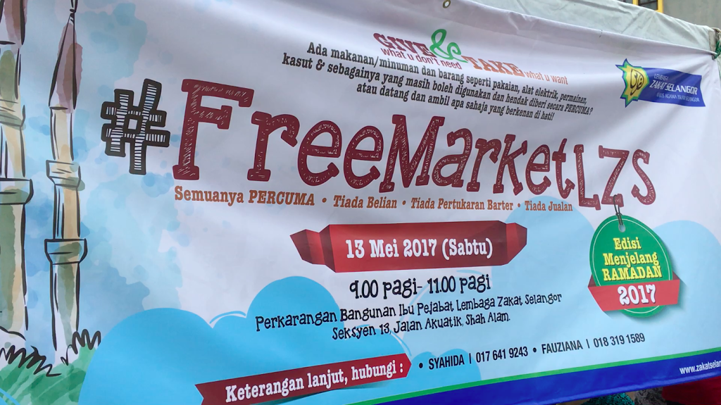 Program #FreeMarketLZS di Shah Alam