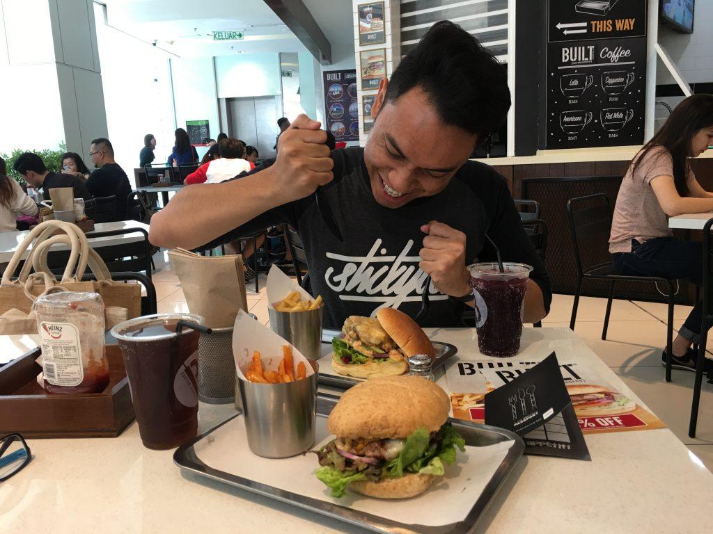 Burger Sedap di NU Sentral