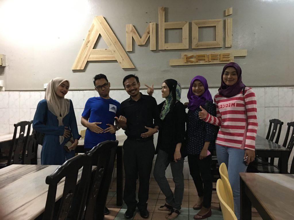 Amboi Kafe Seksyen 7, Shah Alam