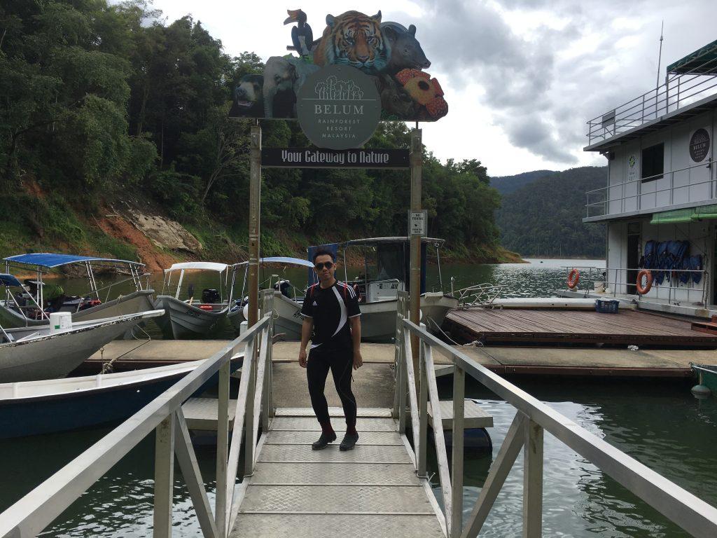 Aktiviti Excursion di Pulau Banding Royal Belum