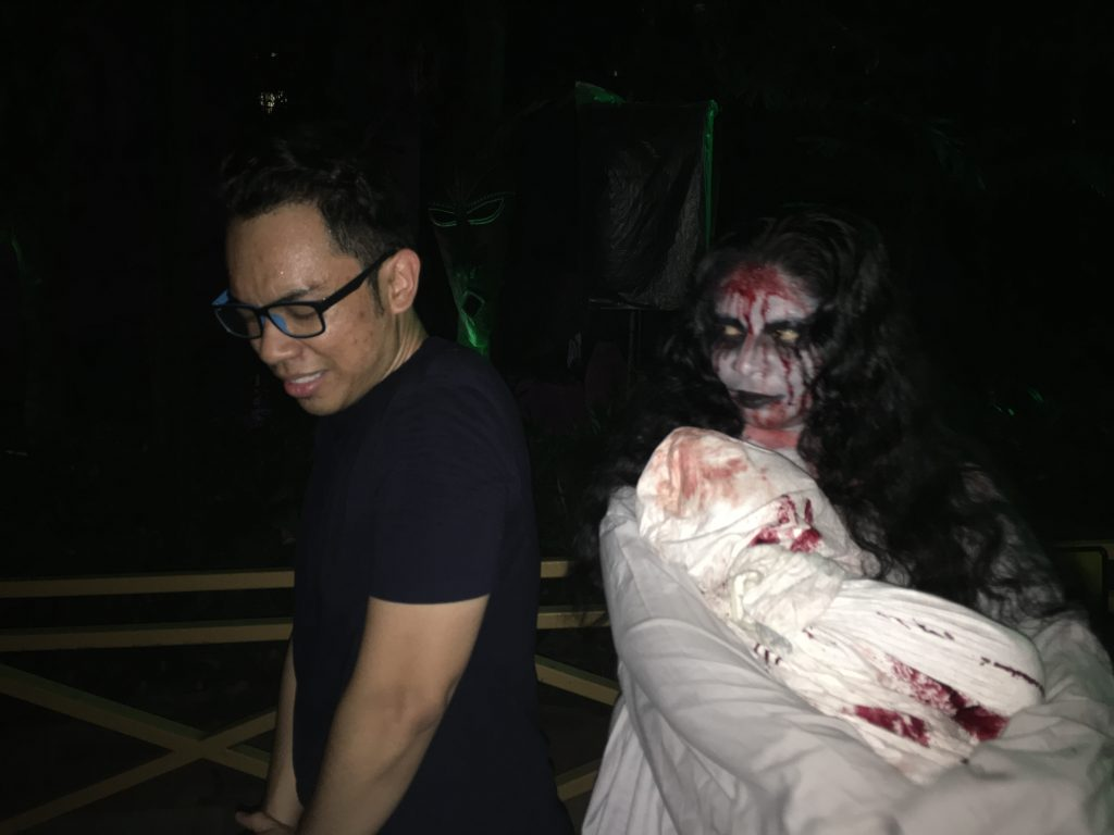 Feel the Fear di Night of Fright 5 Sunway Lagoon