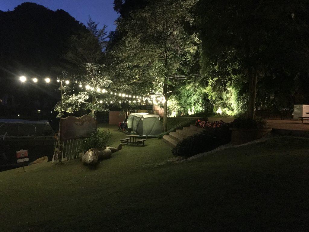 Glamping di Lost World of Tambun Perak