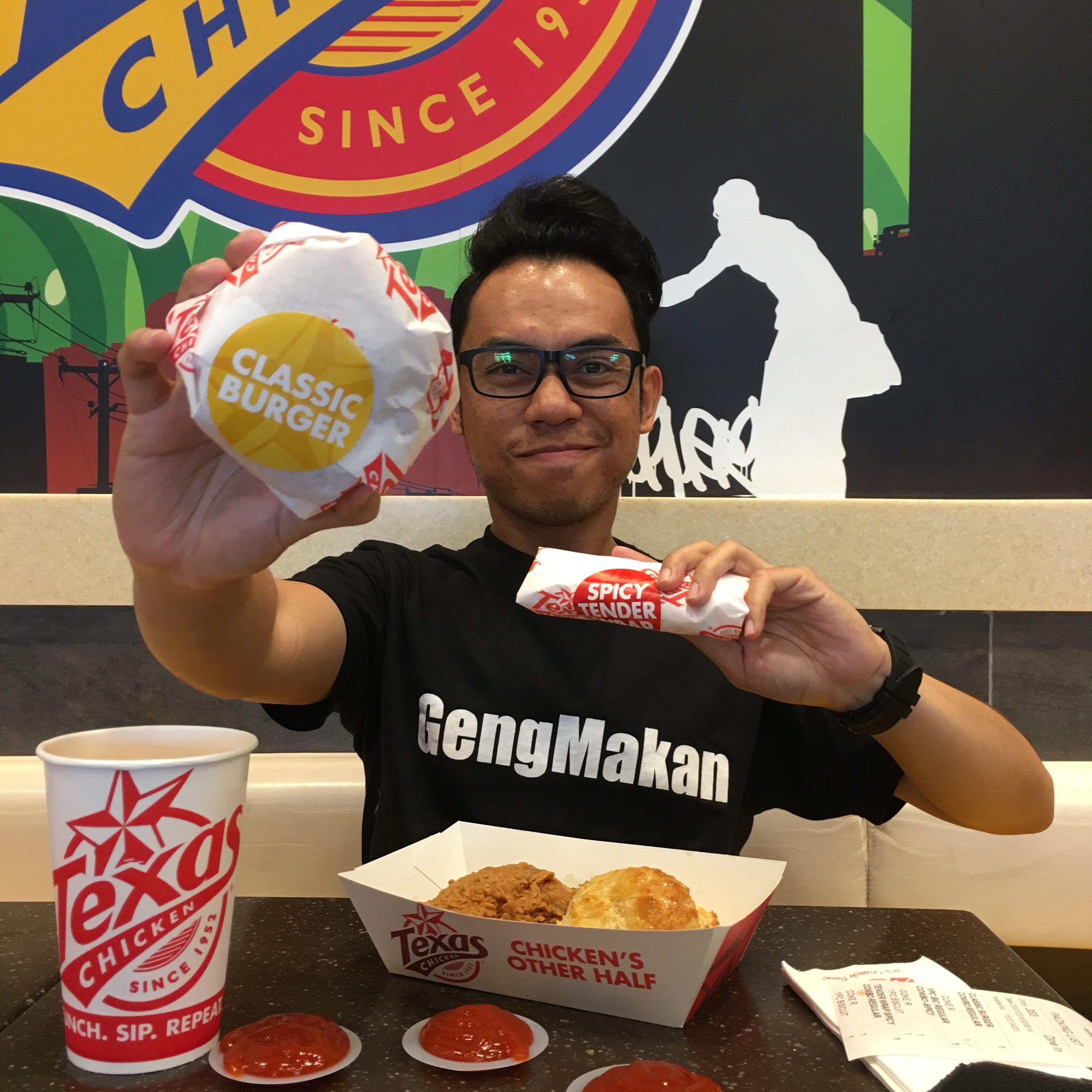 Set Jimat Crunchy Deals di Texas Chicken dengan harga RM5.50
