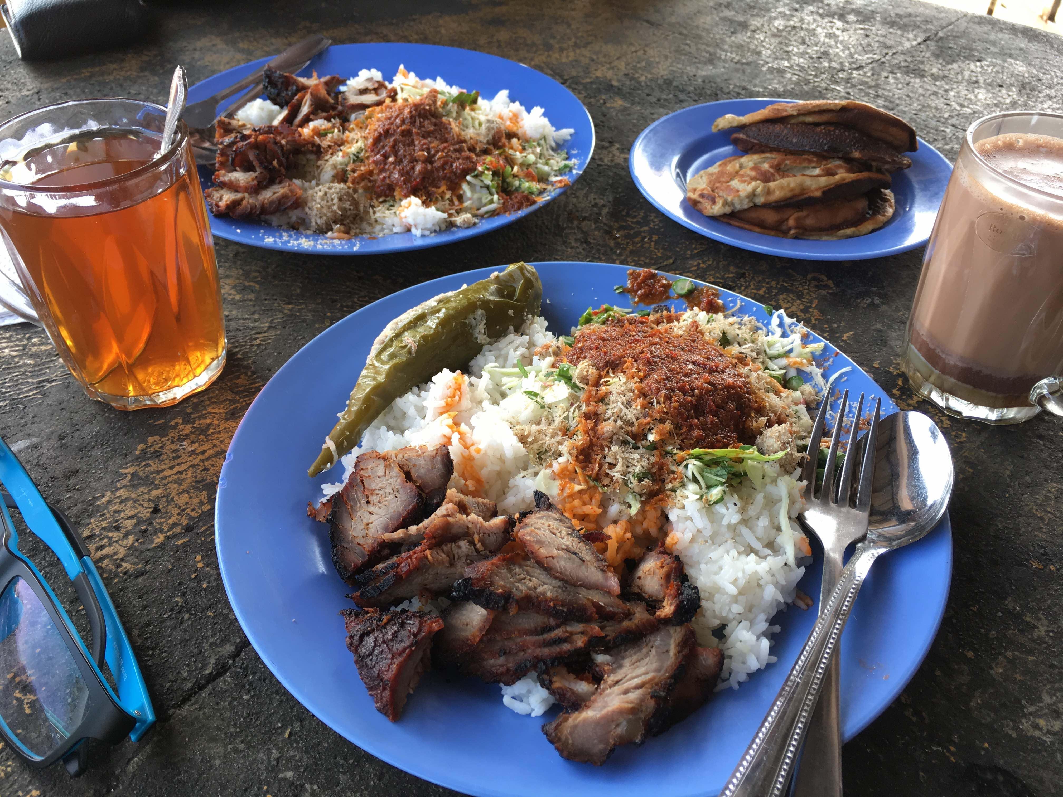 Nasi Kerabu Kemira Tanjung Lumpur Kuantan