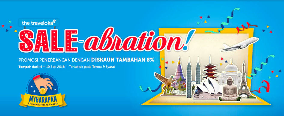 Traveloka Sale-abration dengan MATTA FAIR 2018