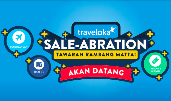 Traveloka Sale-abration Rambang Mata 2019