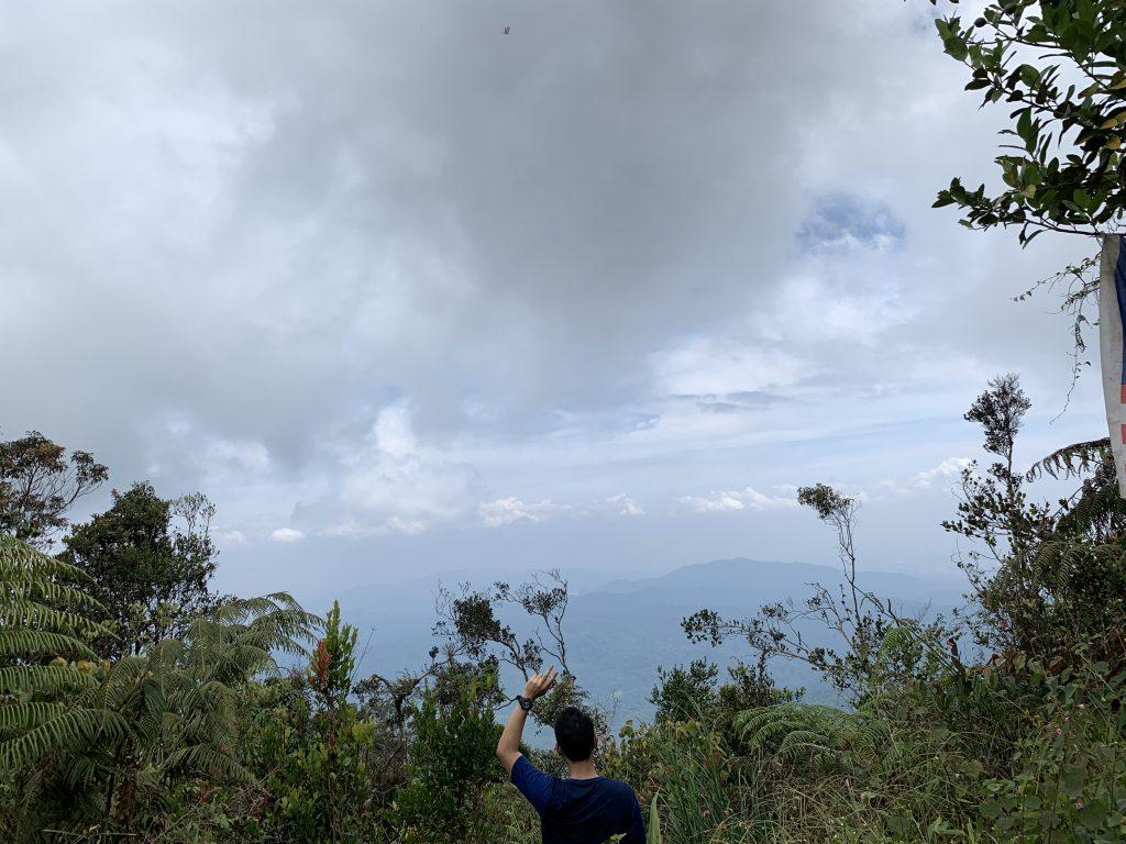 Gunung Bunga Buah Genting Highland pemandangan di puncak