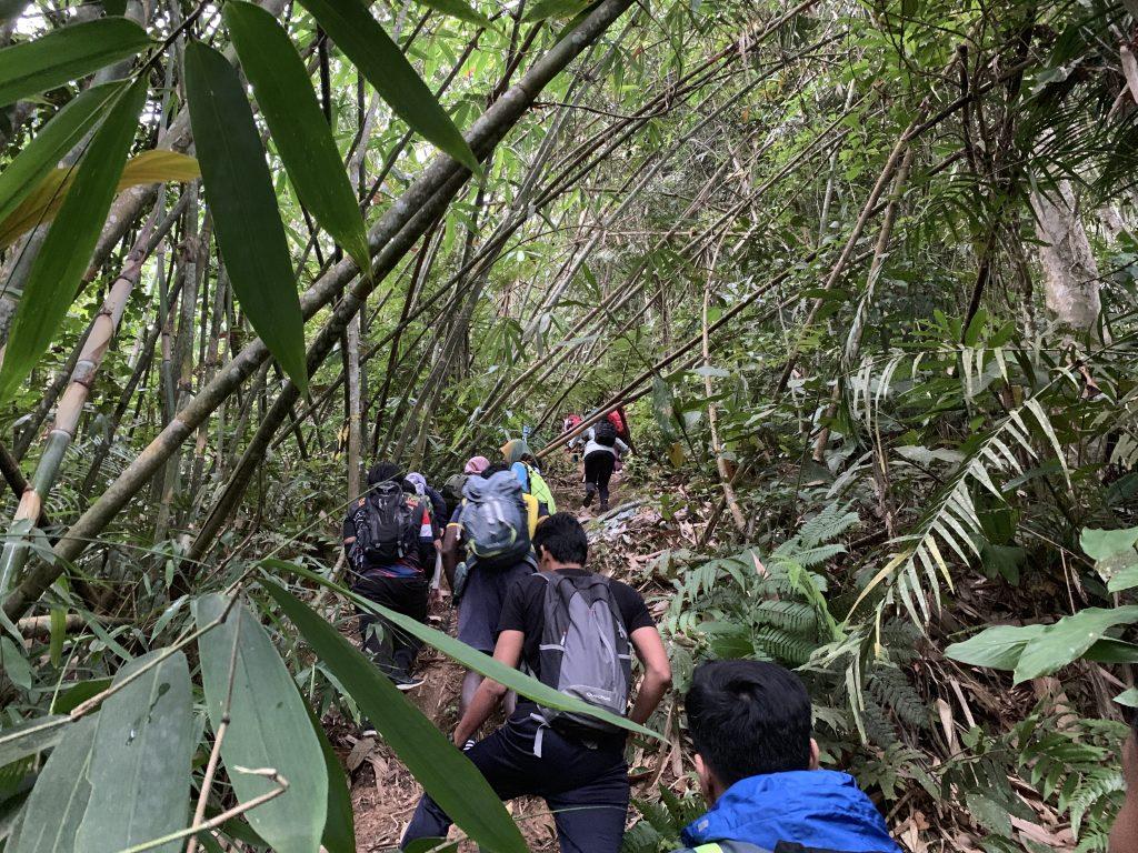 Laluan pendakian pertama