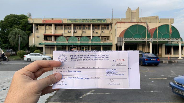 Kursus Pra Perkahwinan Klang 2019