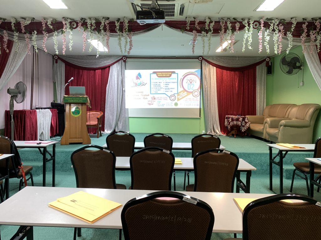 Dewan Kursus Pra Perkahwinan Klang 2019