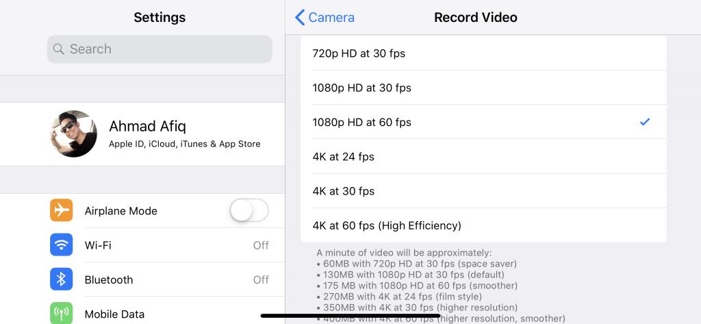 Tip Rekod Video Menggunakan Handphone