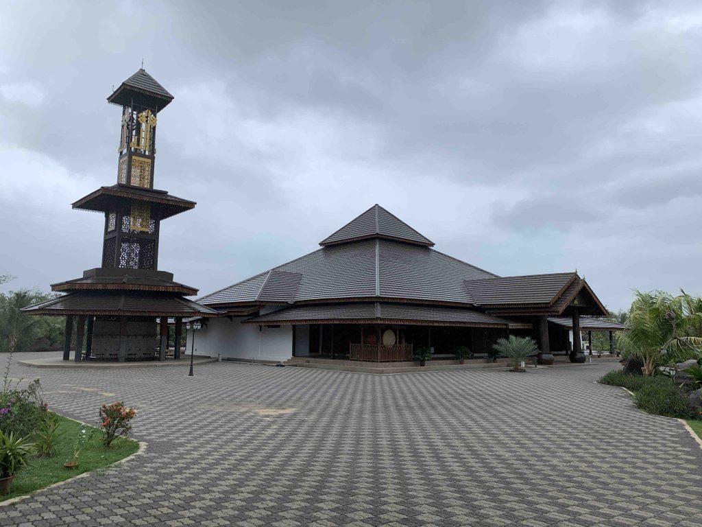 Masjid Ar Rahman Kelantan ruang depan