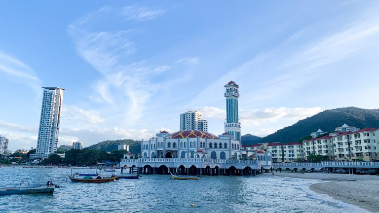 Masjid Terapung Tanjung Bunga Pulau Pinang